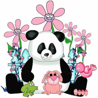 Flores del oso de los chicas del niño de la escult fotoescultura vertical