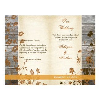 Flores del otoño, FALSO programa de madera del bod Tarjetón