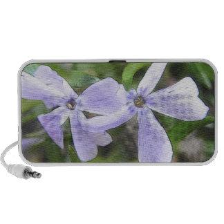 Flores del Phlox del arrastramiento Notebook Altavoces