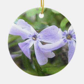 Flores del Phlox del arrastramiento Ornamentos Para Reyes Magos