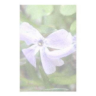 Flores del Phlox del arrastramiento Papeleria Personalizada