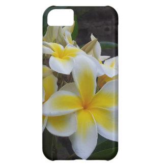 Flores del Plumeria de Hawaii Carcasa iPhone 5C
