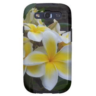 Flores del Plumeria de Hawaii Galaxy S3 Coberturas