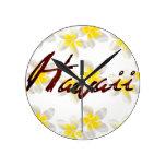 Flores del Plumeria de Hawaii Relojes