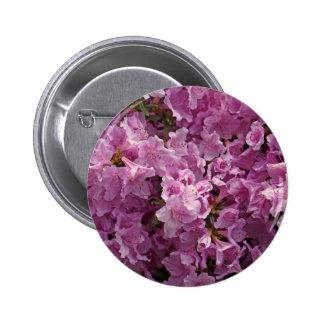 Flores del rododendro de Violett Pin Redondo 5 Cm