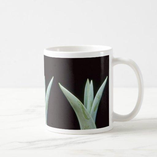 Flores del rojo del tulipán tazas de café