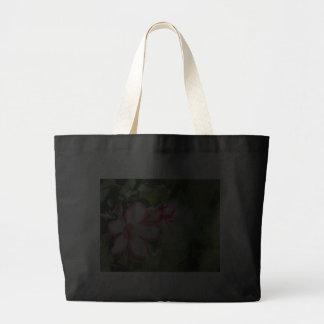 Flores del rosa de desierto en la lluvia bolsas