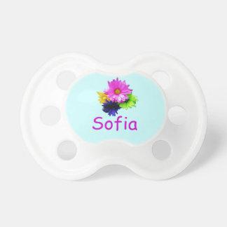 flores del Sofía-neón Chupetes