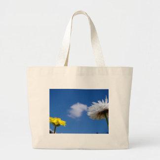 Flores del tiempo de primavera bolsas