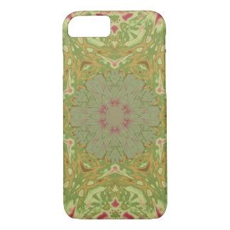 Flores del tono de la tierra funda iPhone 7