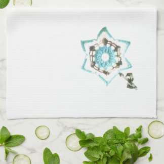 Flores del trullo toallas de mano