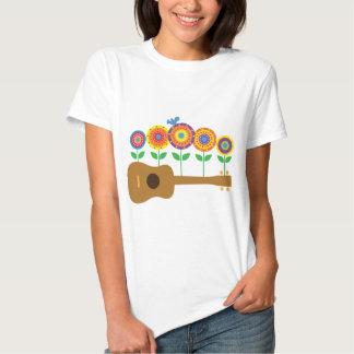 Flores del Ukulele Camisas
