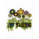 Flores del valor de YW Postal