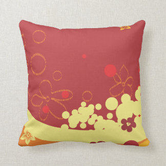 Flores del verano almohada