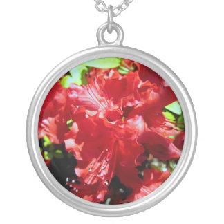 Flores del verano colgante redondo
