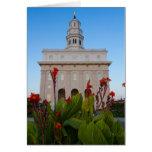 Flores del verano del templo de Nauvoo Felicitación
