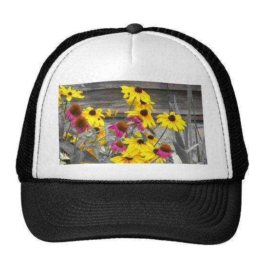 Flores del verano gorras