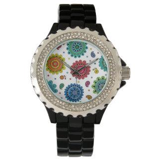 Flores del verano relojes