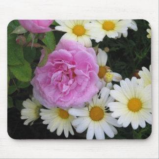 Flores del verano tapetes de ratón