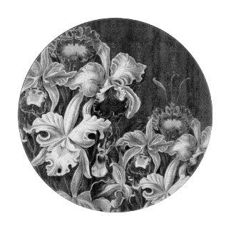 Flores del vintage de Black&White Tabla Para Cortar