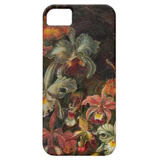 Flores del vintage del tono de la tierra funda para iPhone SE/5/5s