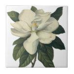 Flores del vintage, flor blanco floreciente de la  azulejos ceramicos