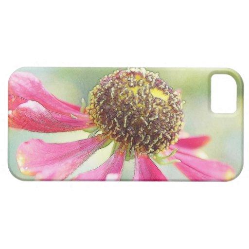Flores delicadas del Helenium iPhone 5 Case-Mate Cárcasa