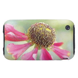 Flores delicadas del Helenium Funda Resistente Para iPhone 3