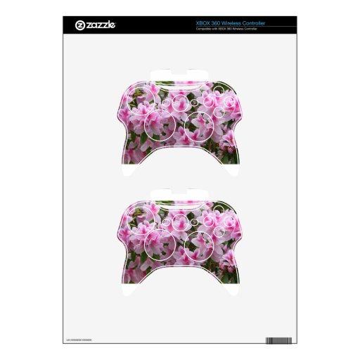 Flores dichosos románticos mando xbox 360 skin