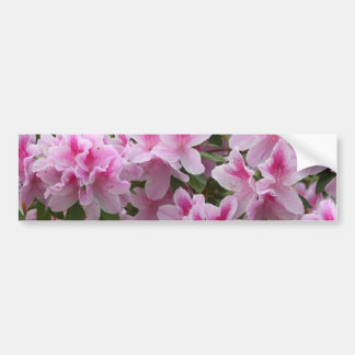 Flores dichosos románticos pegatina para auto