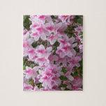 Flores dichosos románticos puzzle