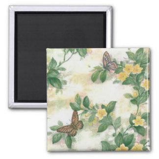 Flores e imán de las mariposas