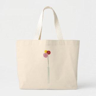 Flores elegantes bolsa de mano