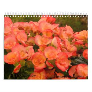 Flores en calendario de la floración 2016