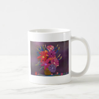 Flores en la taza ligera