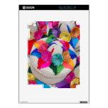 Flores en las cajas tejidas calcomanía para el iPad 2