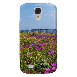 Flores en Pandateria. Funda Para Galaxy S4