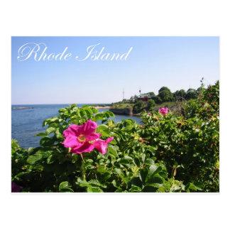 Flores en Rhode Island Tarjetas Postales