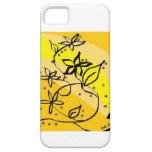 Flores en un caso del iPhone 5 del día soleado iPhone 5 Case-Mate Cárcasas
