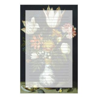 Flores en un florero  papeleria