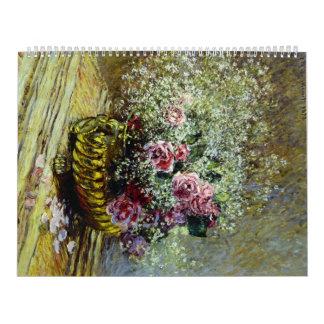 Flores en un pote - Claude Monet Calendario
