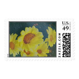 Flores en un tarro sello