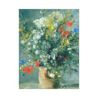 Flores en una bella arte de Auguste Renoir del