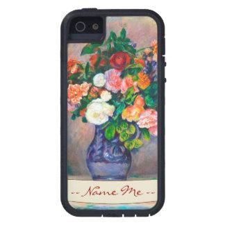 Flores en una pintura de Pedro Auguste Renoir del Funda Para iPhone SE/5/5s