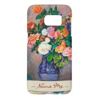 Flores en una pintura de Pedro Auguste Renoir del Funda Samsung Galaxy S7