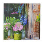 Flores en Venecia, Italia Azulejos Ceramicos