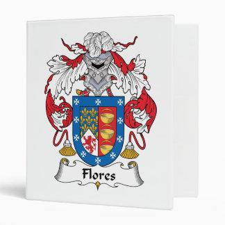 Flores Family Crest Binder