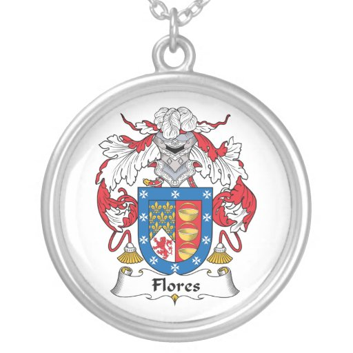 Flores Family Crest Custom Jewelry