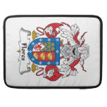 Flores Family Crest MacBook Pro Sleeves