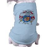 Flores Family Crest Pet Clothes